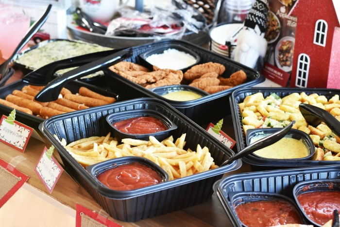 Applebees togo catered holiday order 1