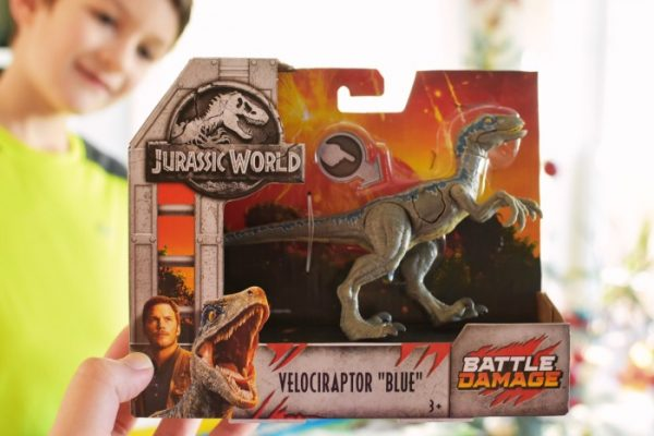 Blue from Jurassic World 1