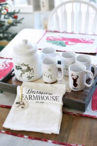 Farmhouse personalized towel 1