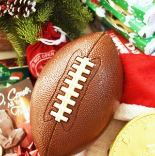 Football Christmas scene 1