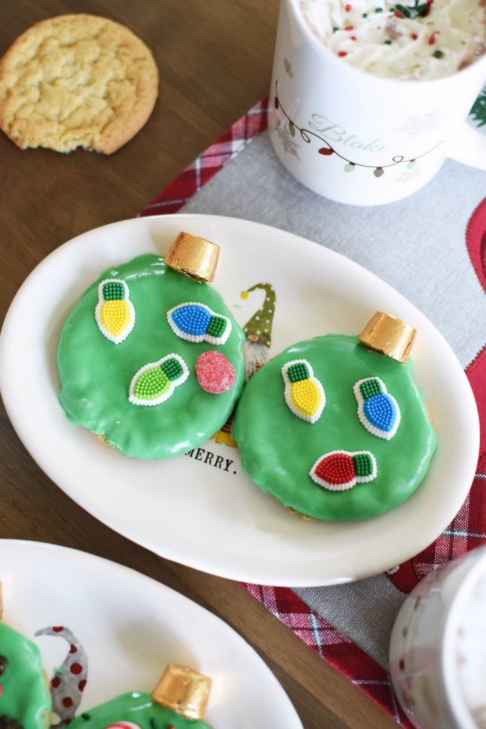 Ornament Cookies with Rollos 1