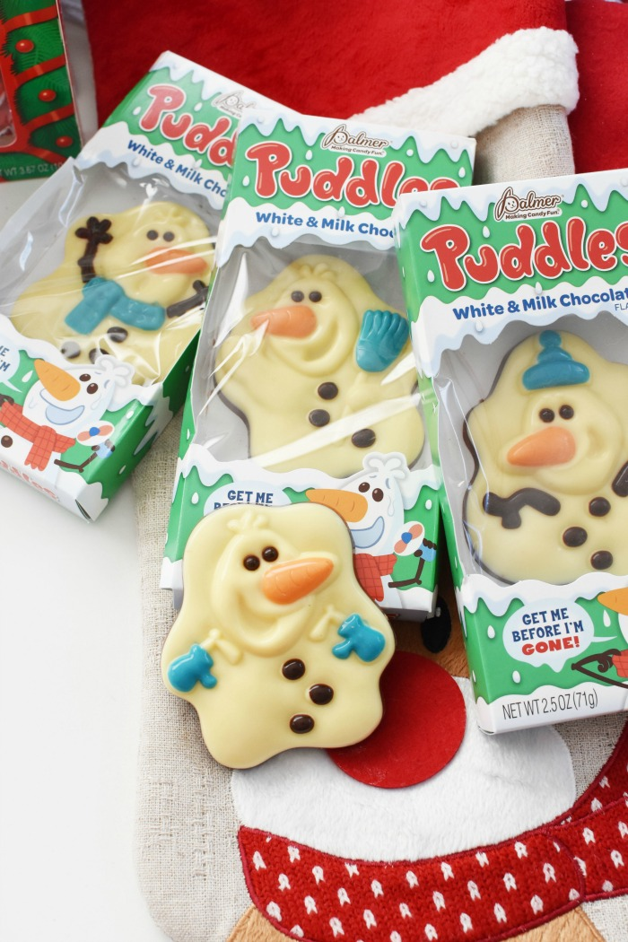 Puddles White Chocolate snowman 1