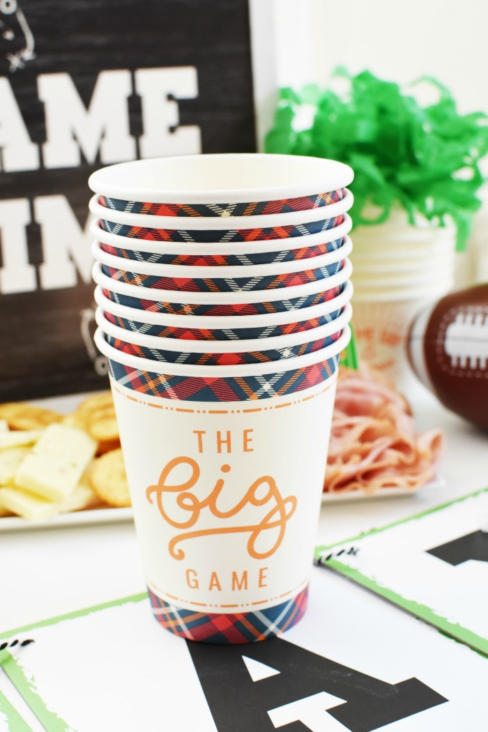 The big game cups 1
