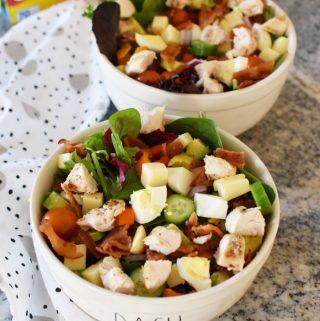 2 bowls of Chopped Salad recipe