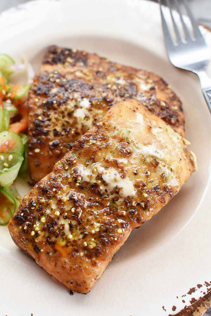Citrus Ginger salmon