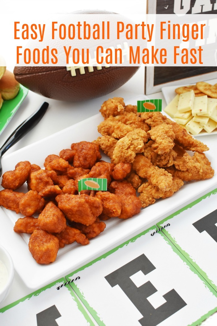 Easy Football Party Finger Foods You Can Make Fast