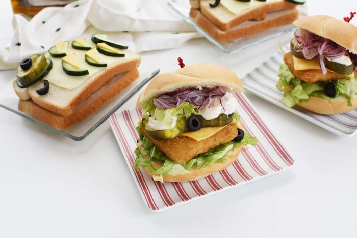 Fish Sandwich with Gortons Fish Patty 1
