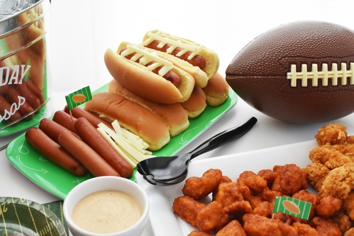 Homegating food spread 1