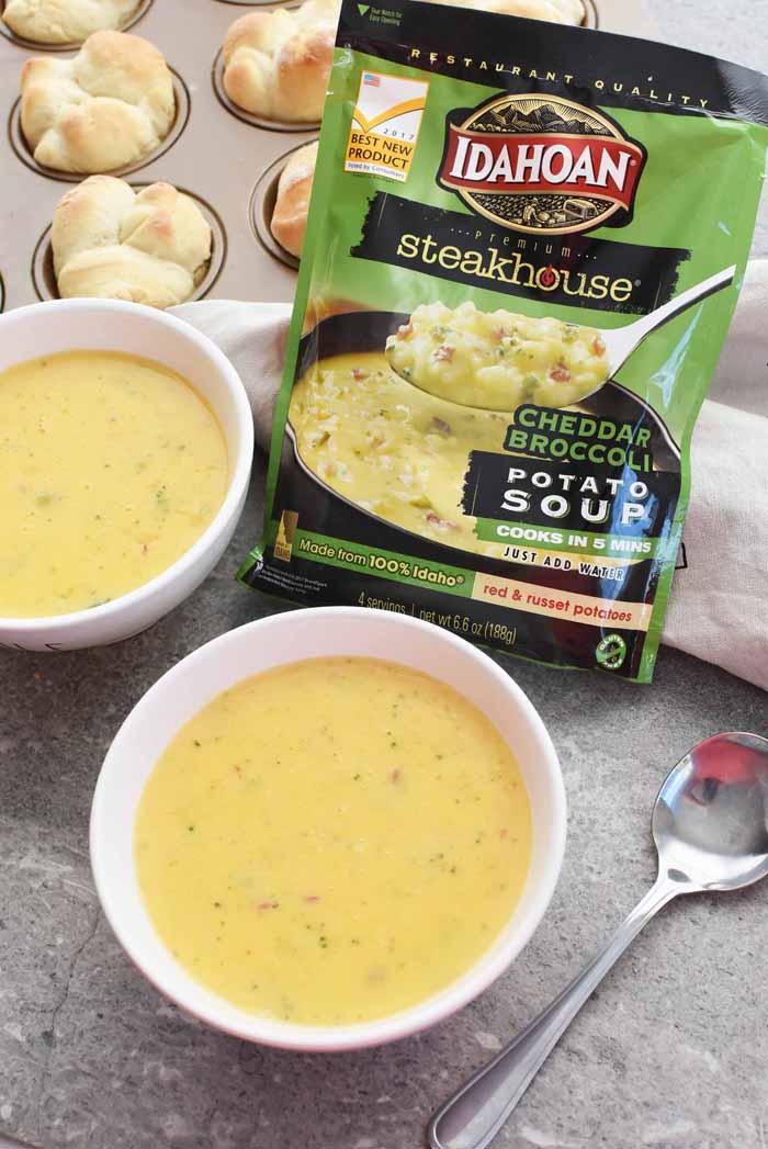 Idahoan Steakhouse soup 1