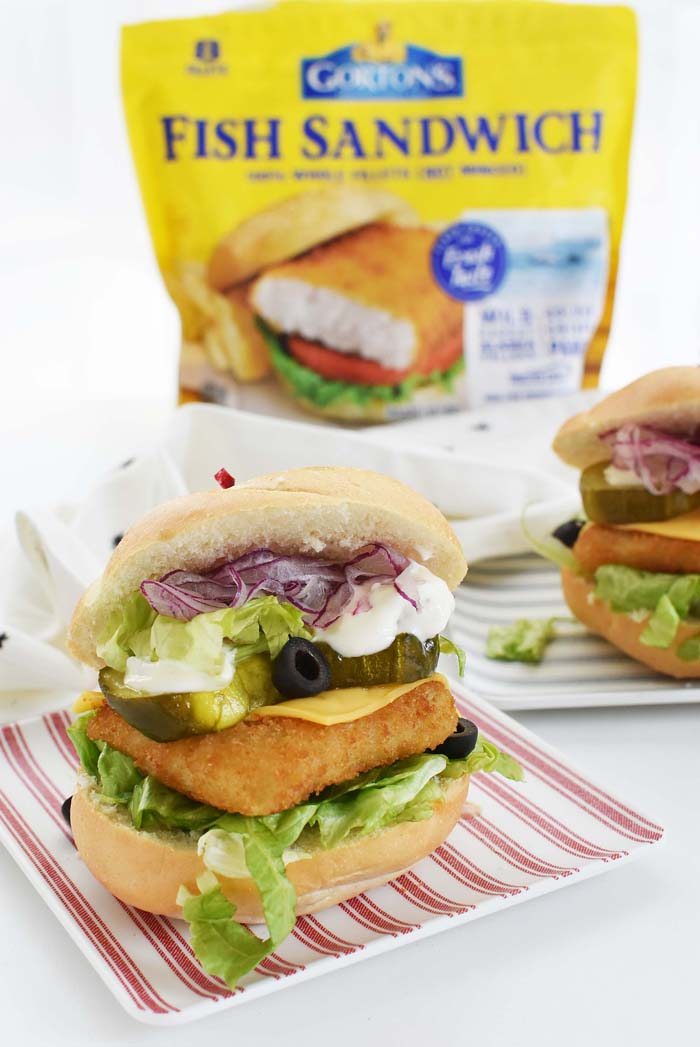 Ultimate Gortons Fish Burger 1