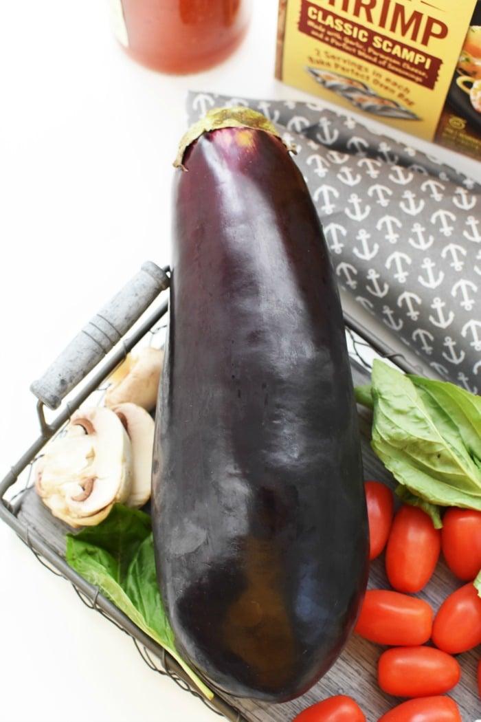 eggplant with tomatoes 1