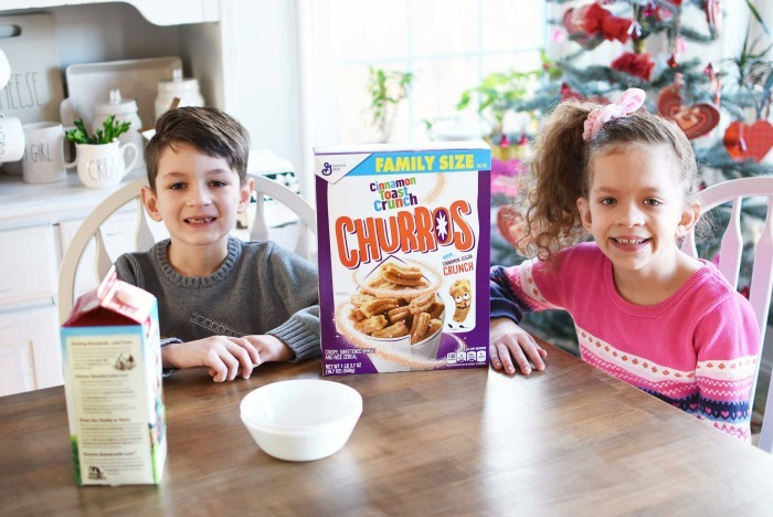 kids with churros cereal 1