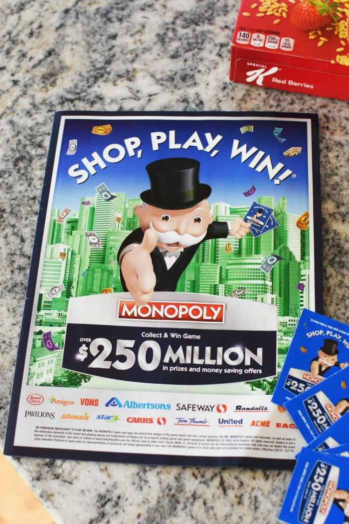 picture regarding Albertsons Monopoly Game Board Printable called Monopoly Retailer Enjoy Acquire 2019 (By yourself May Earn Substantial) ⋆ Savvy