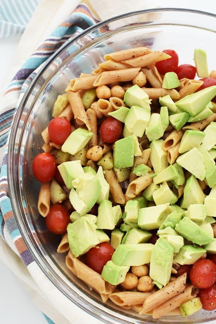 Avocado Pasta Salad 1