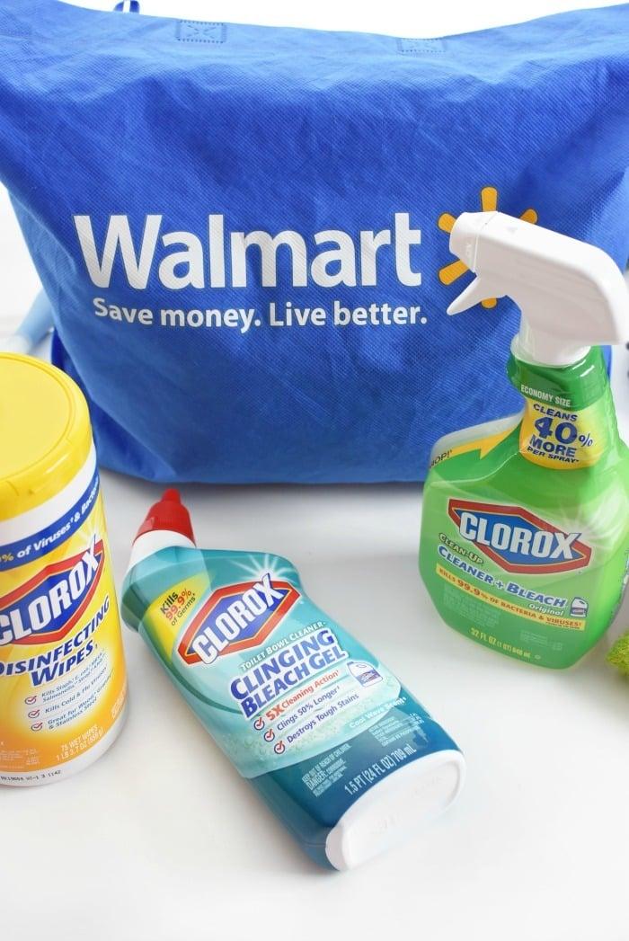 Clorox at Walmart 1
