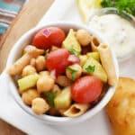 Gluten Free Lentil Pasta Salad Recipe 1