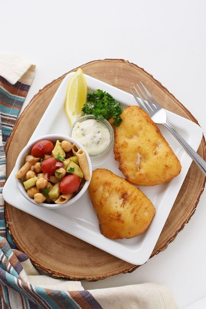 Gluten Free Pasta Salad with Fish 1