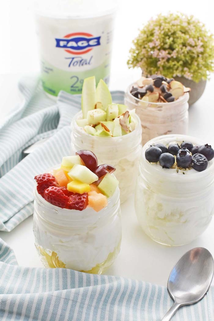 Greek Yogurt Jars 1