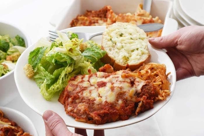 Italian food plate 1