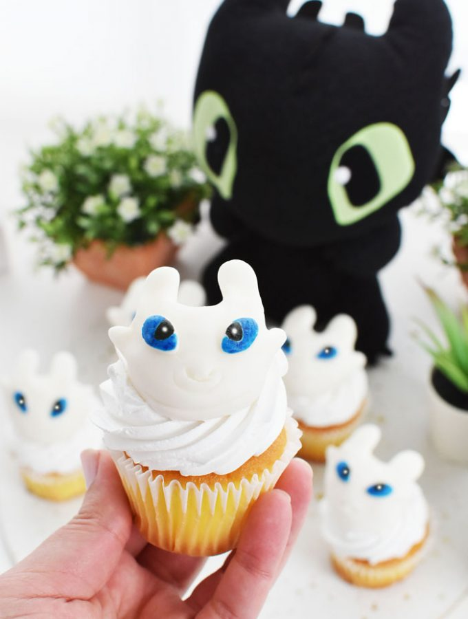 Light Furry cupcake 1