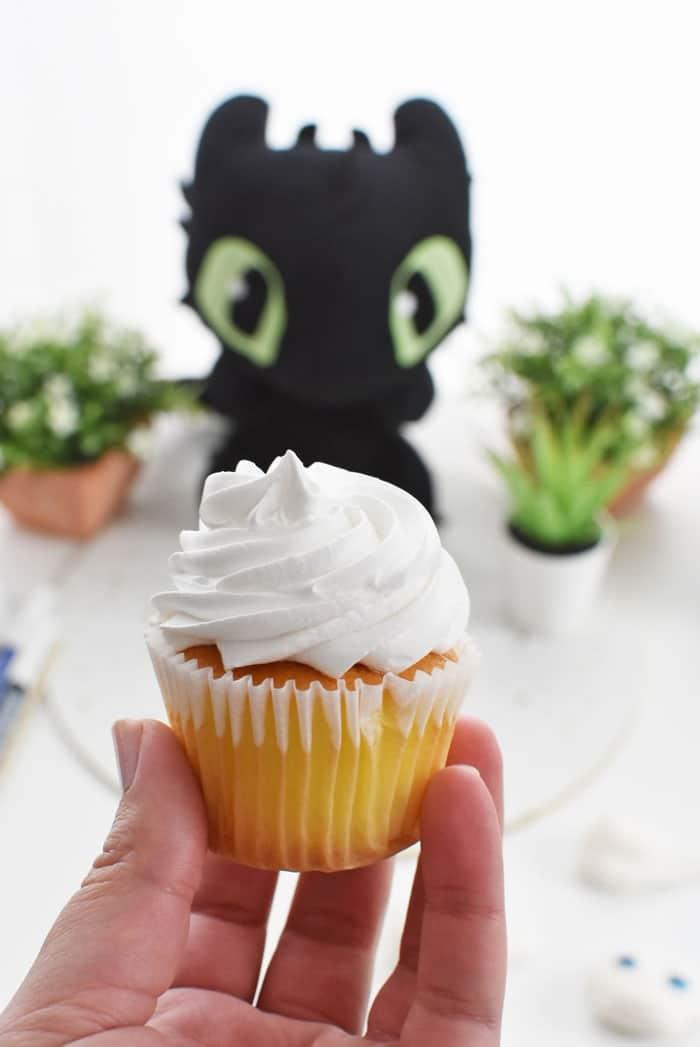 whipped vanilla cupcake 1