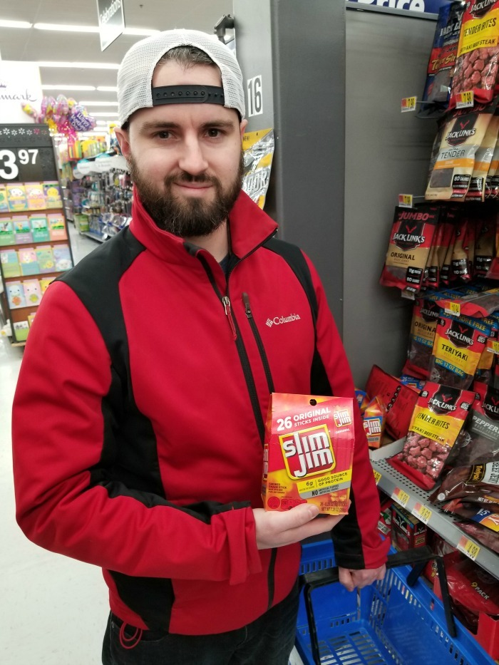 Slim Jim at Walmart