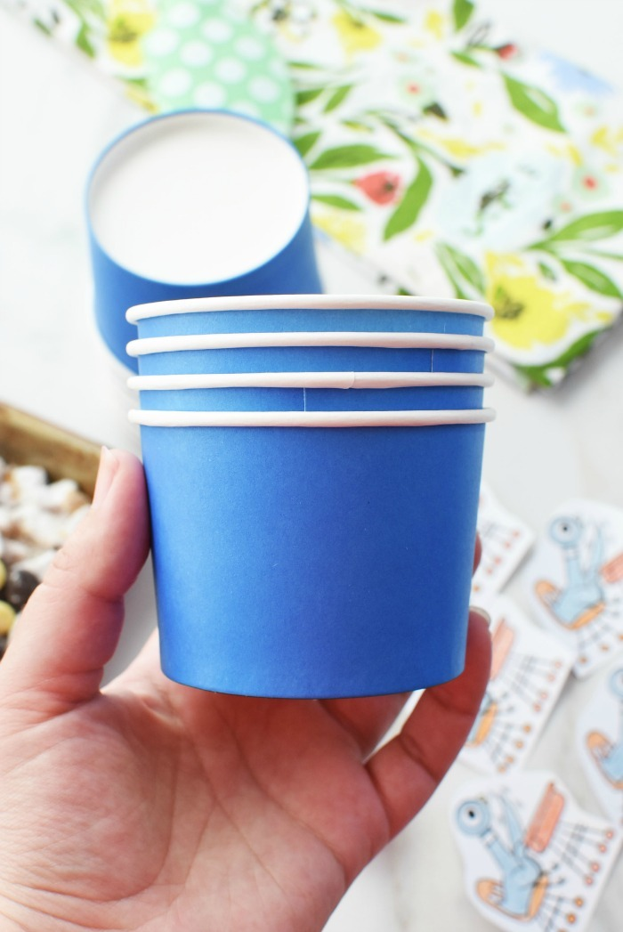 Blue Party Cups 1