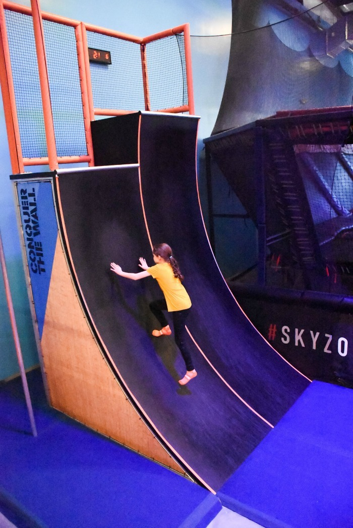 Conquer the Wall Sky Zone Providence 1