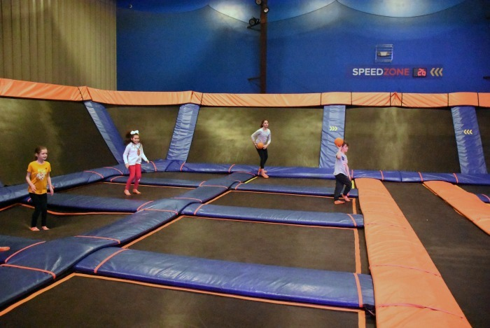 Dodgeball at Sky Zone 1