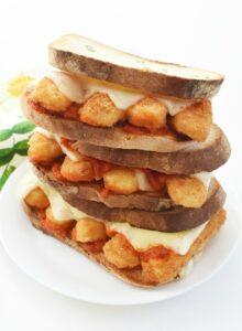 Fish Stick Parmesan Sandwiches