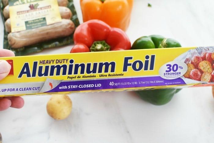 Heavy Duty Aluminum Foil 1