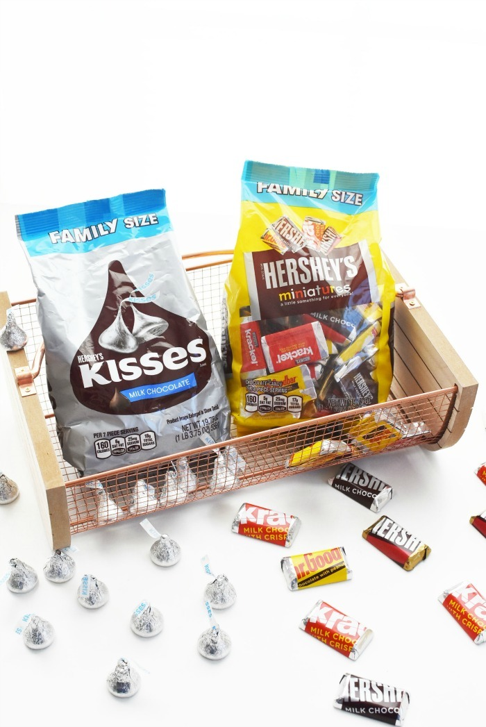Hershey's Family Size and Miniatures 1