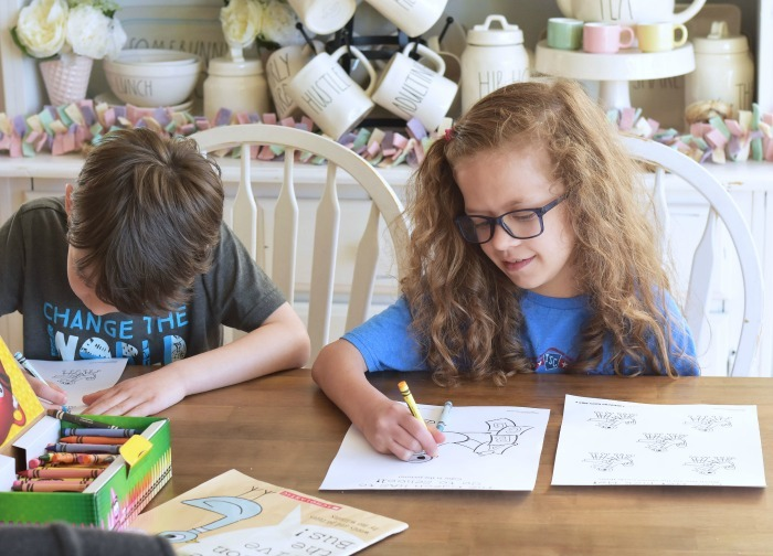 Kids Coloring Pigeon printables 1