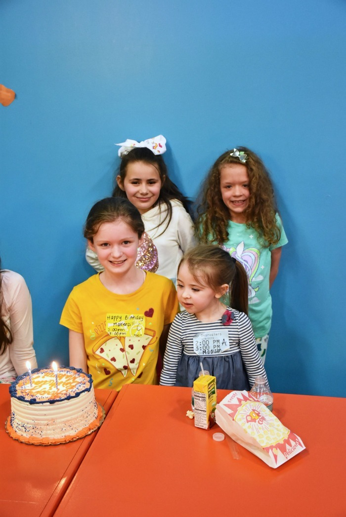 Kids having a birthday party 1