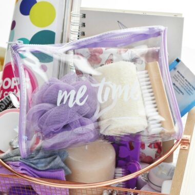 Me time mom basket ideas 1