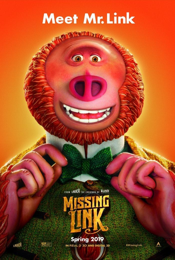 Missing Link movie poster vertical 1