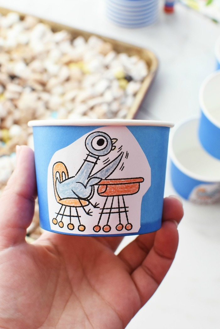 Mo Willems Pigeon Party Cups 1