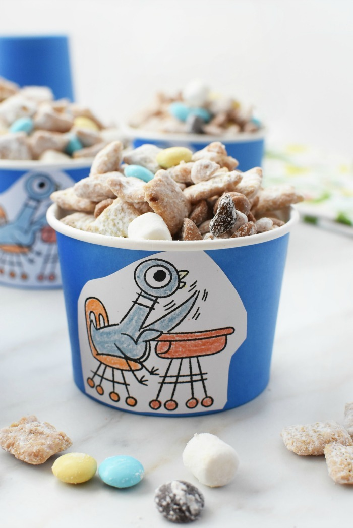 Pigeon Party Snack Cups 1