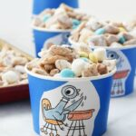Pigeon Puppy Chow Snack Mix cups