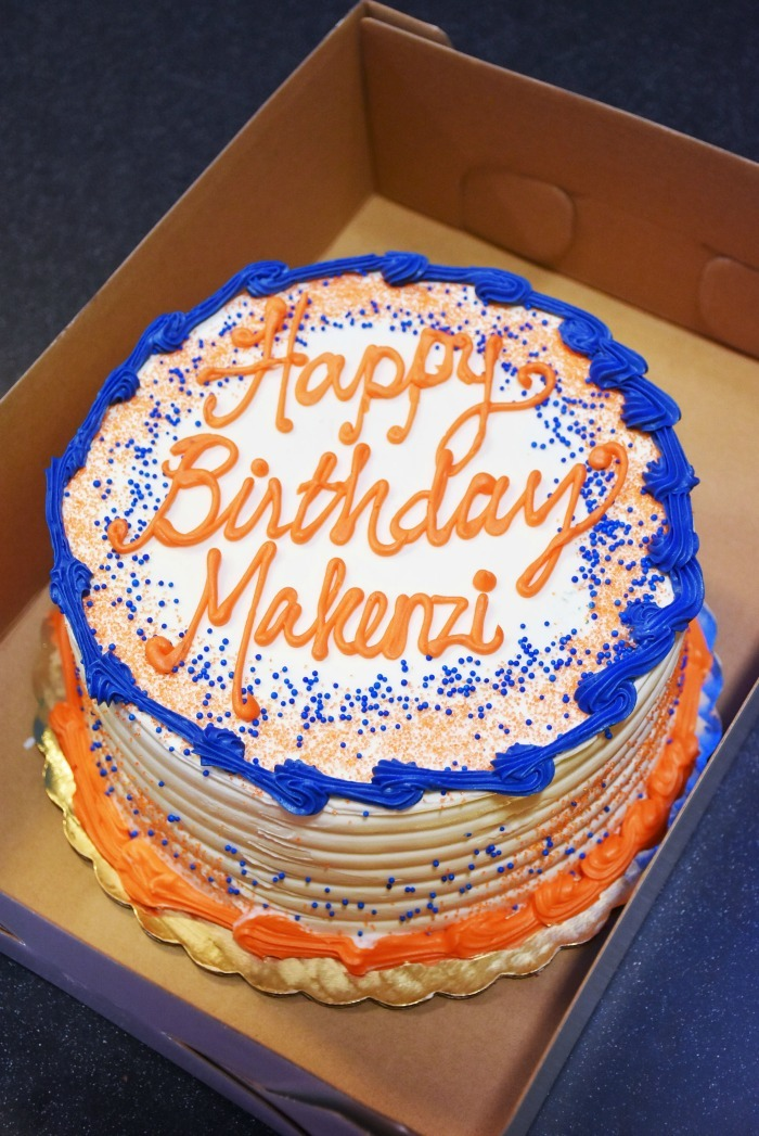 Sky Zone Bakery Birthday Cake 1