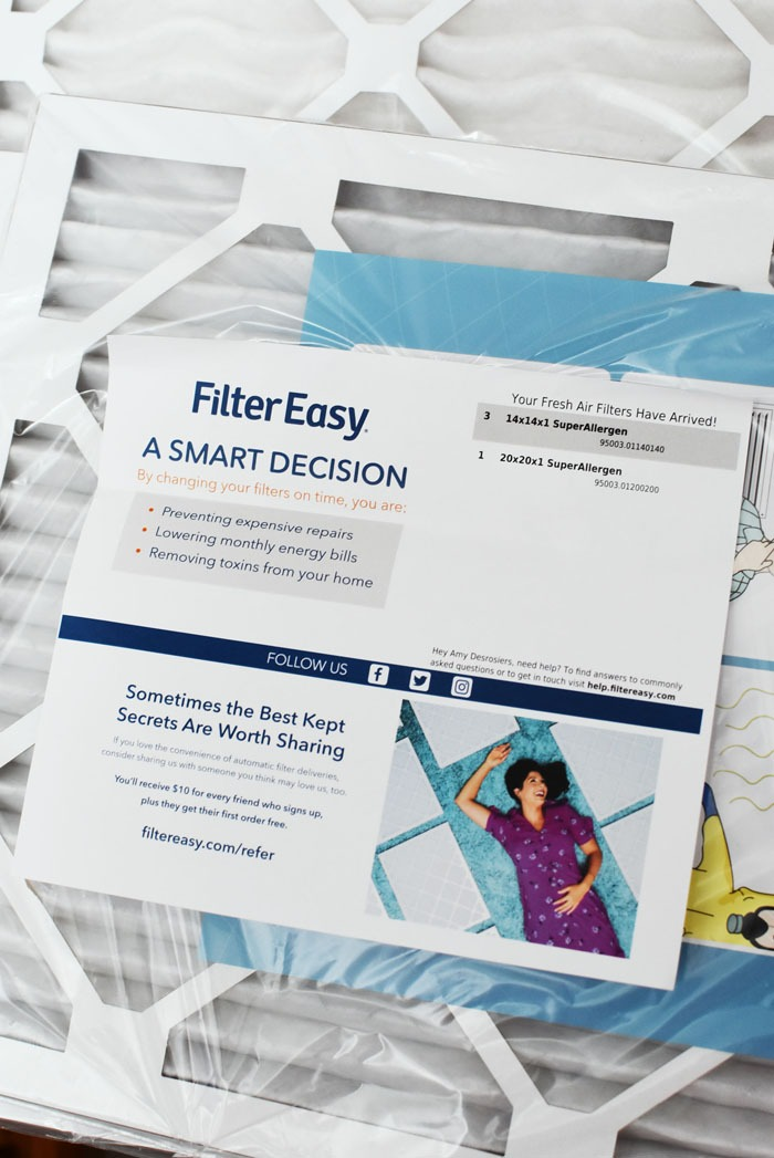 filter easy air filter packaging