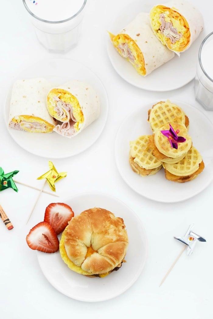 Breakfast sandwich for back to school 1