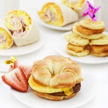 quick warm breakfast ideas for back to school