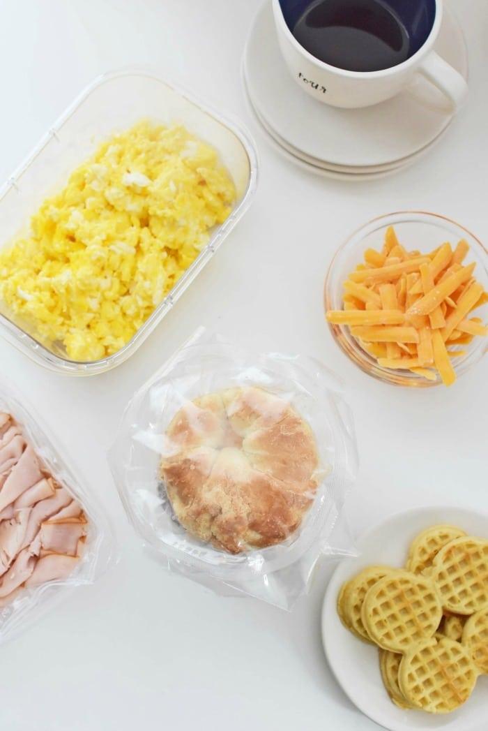 Quick breakfast sandwich hacks 1