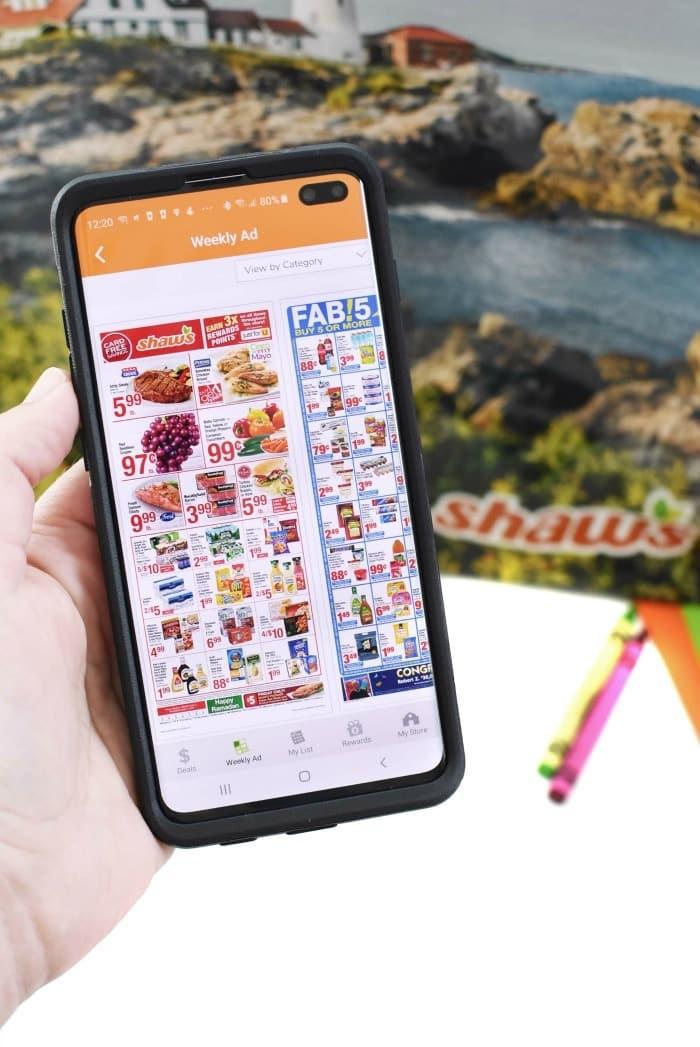 shaws mobile app