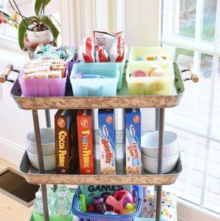 Summer Snack Cart