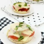 Toasted Tomato & Basil English Muffins