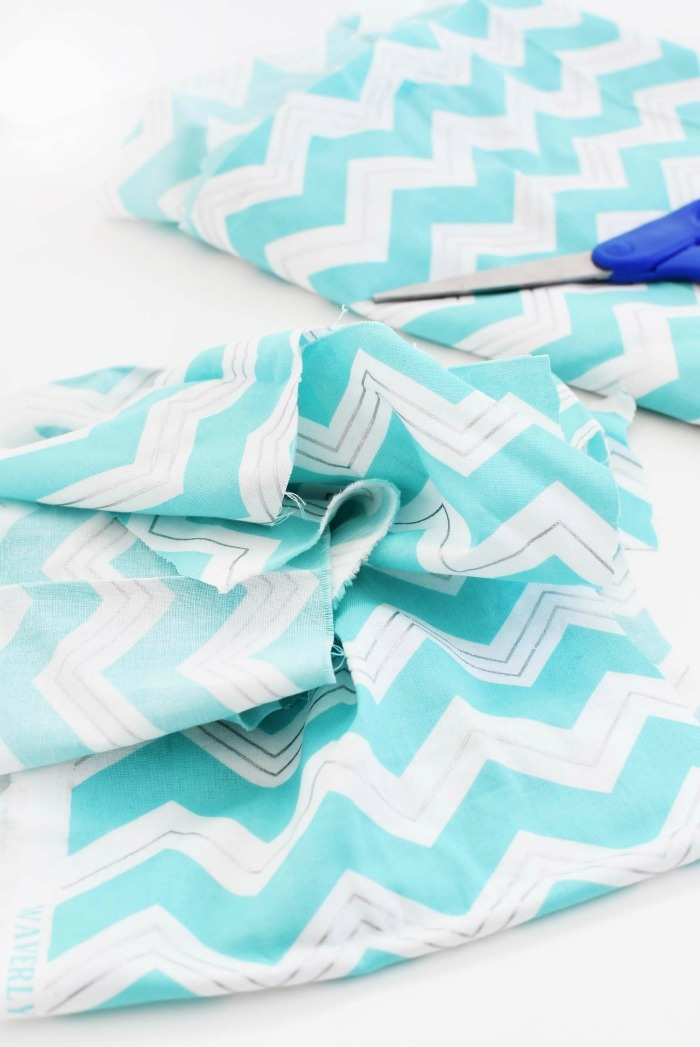 Waverly Blue Fabric 1
