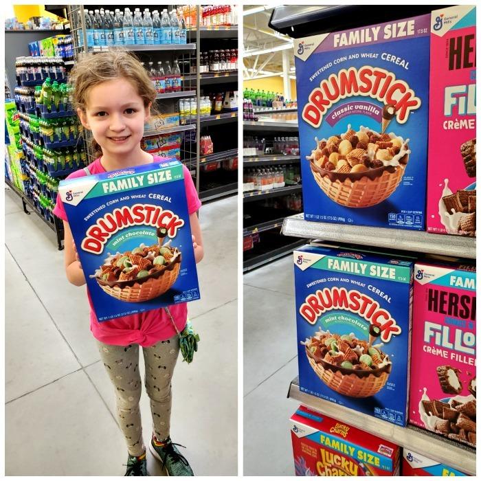 Drumsticks Cereal at Walmart