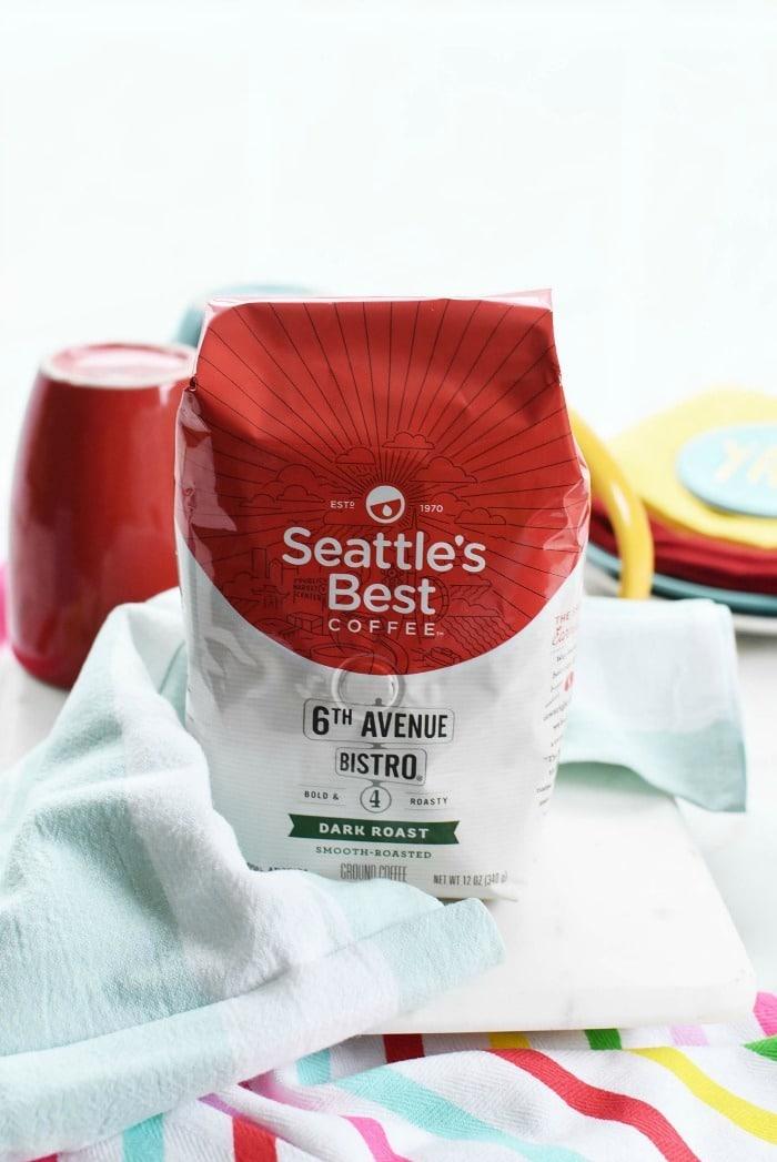 Seattle's Best coffee bag
